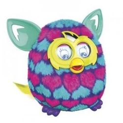 FURBY BOOM PINK AND BLUE HEARTS WERSJA FRANCUSKA