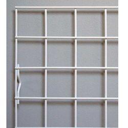krata ekspozycyjna 100x80cm, metalowa - biała