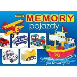 Gra ADAMIGO Memory pojazdy