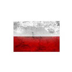Foto naklejka samoprzylepna 100 x 100 cm - Polska flaga