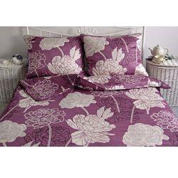 Pościel satynowa Noble Rossara Purple 100% bawełny