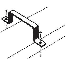 Wspornik prostokątny przewodu, 125 mm (2 szt.)