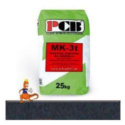 PCB ZAPRAWA MURARSKA Z TRASEM DO KLINKIERU MK-3t 25KG ANTRACYT