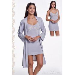 ffc81a07886932 szlafroki damskie trytasy (od Damska bambusowa piżama BELINDA ze ...