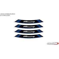 Paski na felgi PUIG (wzór RACING, kolor niebieski)