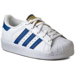 Buty adidas - Superstar Foundation C BA8383 Ftwwht/Blue/Ftwwht