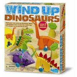 Nakręcane Dinozaury 4M