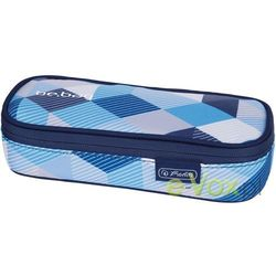 Herlitz Piornik saszetka be.bag cube Blue checked