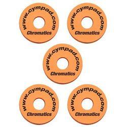 Cympad Chromatic 40/15mm Set Orange podkładki do talerzy perkusyjnych (5 szt.), pomarańczowe