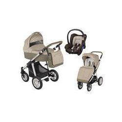 Wózek wielofunkcyjny 3w1 Lupo Dotty Baby Design + Citi GRATIS (beżowy)