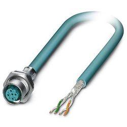 Kabel sieciowy Przewód sieciowy CAT 5e SF/UTP 4 x 0.14 mm² VS-M12FSBP-OE-93E-LI/2,0 Phoenix Contact 1405866 Niebieski 1 szt.
