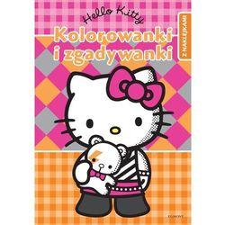 Hello Kitty Kolorowanki i zgadywanki z naklejkami
