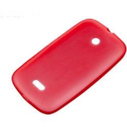 Etui Silikonowe Nokia CC-1055 Red do Lumia 510 - Czerwony