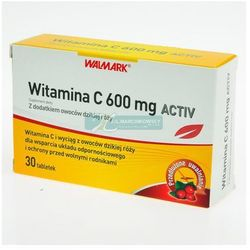 Witamina C 600 mg ACTIV 30 tabletek Walmark