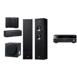 YAMAHA RX-V381 + YAMAHA NS-F51 / SW012 - Kino domowe - Autoryzowany sprzedawca