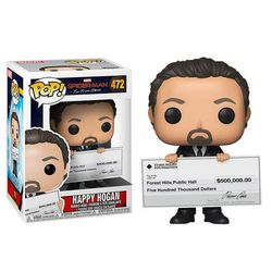 Figurka Funko Happy Hogan - Pop! Vinyl: Marvel Spider-Man: Daleko od domu