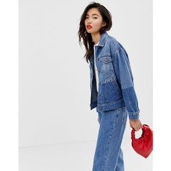1e537d02a984d Iden Denim oversized trucker jacket with shadow detail co-ord with organic  and recycled cotton