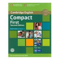 Compact First Student's Book with answers CD