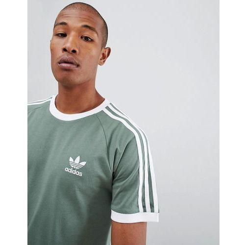 adidas Originals California T Shirt In Green DV2553 Green