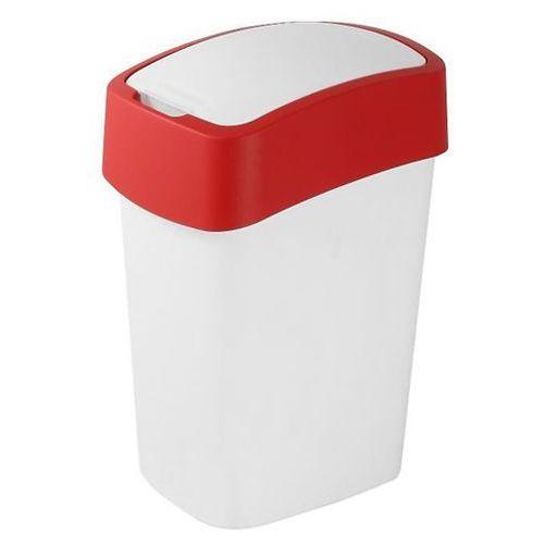 Kosz do segregacji śmieci FLIP BIN 50l czerwony