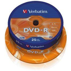 VERBATIM PŁYTY DVD-R VERBATIM 4,7GB 16X CAKE 50 SZT.43548