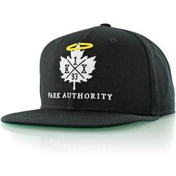 czapka z daszkiem K1X - Halo black 0001 (0001) rozmiar: OS