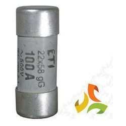 Bezpiecznik, wkładka topikowa cylindryczna CH22x58 gG 100A 002640025 ETI