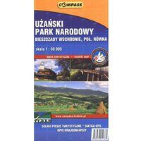 Użański Park Narodowy mapa turystyczna