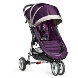Baby Jogger Wózek spacerowy City Mini 3-kołowy purpel / gray