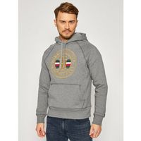 TOMMY HILFIGER Bluza Icon Hoody MW0MW15257 Szary Regular Fit