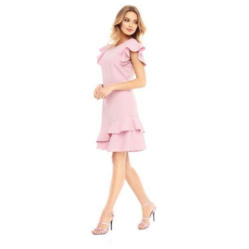 7c5c283f Sukienka Laelia w kolorze różowym - porównaj zanim kupisz