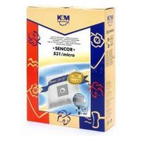 Worki K&M S31 MICRO Sencor SVC45 RD/WH 5szt + 2 filtry