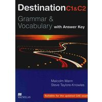 Destination C1&C2 Grammar & Vocabulary Student's Book (podręcznik) with Key (opr. miękka)