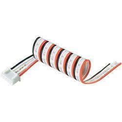 Kabel z czujnikiem Modelcraftu możliwiający podpięcie bateri Li-Po XH,4-pin