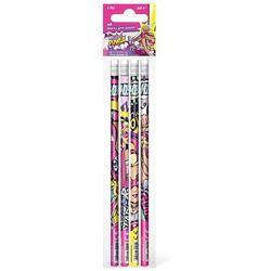 Starpak, Barbie, ołówek z gumką, 4 sztuki Darmowa dostawa do sklepów SMYK