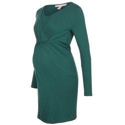 Esprit Maternity Sukienka z dżerseju dark teal green