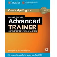 Advanced Trainer Six Practice Tests Without Answers with Audio (opr. miękka)