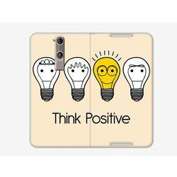 Flex Book Fantastic - ZTE Axon Mini - pokrowiec na telefon - think positive