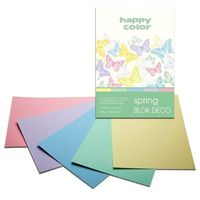 Blok A4/20K Deco Spring 170g HAPPY COLOR