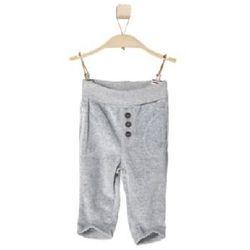 s.OLIVER Boys Mini Spodnie polarowe grey melange