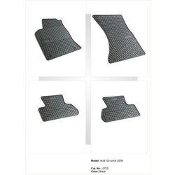 Dywaniki gumowe czarne z kompletem stoperów - Audi Q5 od 2009
