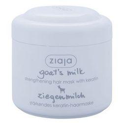 Ziaja Goat's Milk maseczka wzmacniająca do włosów suchych i zniszczonych + do każdego zamówienia upominek.
