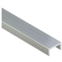 Ceownik aluminiowy 200cm, 2x1 cm Cezar