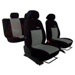 Pokrowce samochodowe ELEGANCE Szare BMW Serii 1 F20/F21 po 2011 - Szary