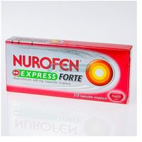 Nurofen Express Forte 400mg 10 kaps.