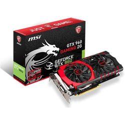 Karta graficzna MSI GeForce GTX 960 2048MB DDR5/128bit DVI/HDMI/DP PCI-E (1216/7010) (wer. OC - Gaming) - GTX 960 Gaming 2G LE