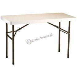 Profesjonalny stół cateringowy składany 122 cm