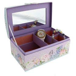Kolekcja Wiosenna Wyprawa pudełko na biżuterię z lusterkiem
