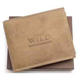 Portfel męski skórzany Always Wild N992 MHU LB
