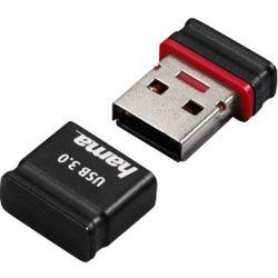 Pendrive USB 3.0, Hama 124011, 64 GB, 70 MB/s / , Czarny/Czerwony